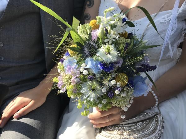 Der Brautstrauss St Peter Ording Hochzeit
